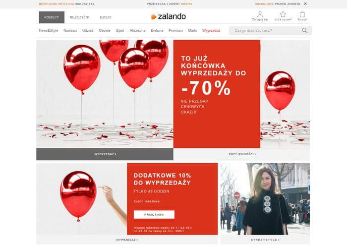 zalando strona www