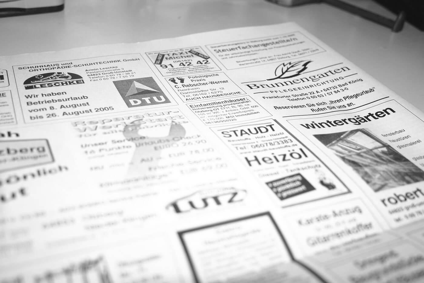 gazeta ogłoszenie o pracę