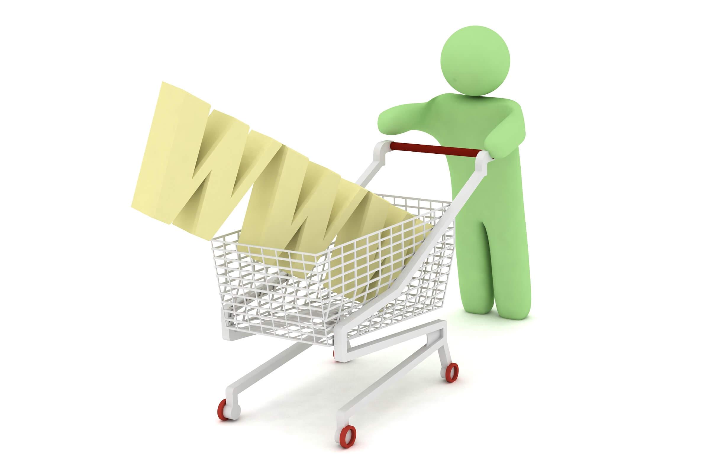 koszyk zakupy w internecie