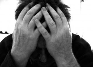 człowiek pod wpływem stresu