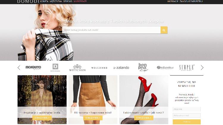 Porównanie serwisów modowych – Domodi, Zalando, Szafa, Allani, czyli moda i zakupy w sieci!