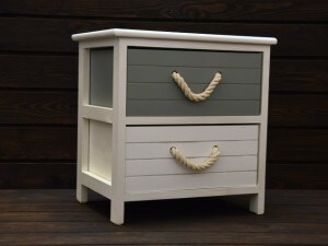 szafka z szufladami w styli vintage
