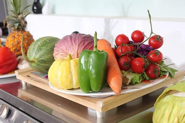 kolorowe warzywa