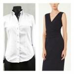 biala-koszula-czarna-sukienka