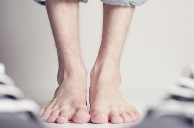 Gołe stopy