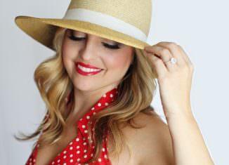 Kobieta w kapeluszu