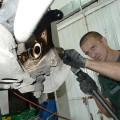 naprawa tylnej belki u mechanika