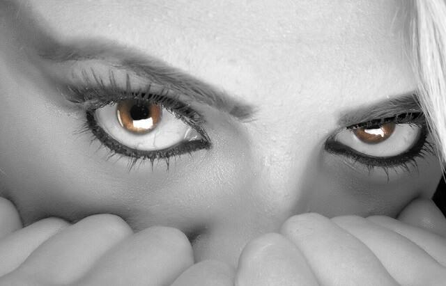 Oczy pełne strachu