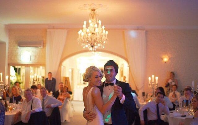 Taniec pary na weselu