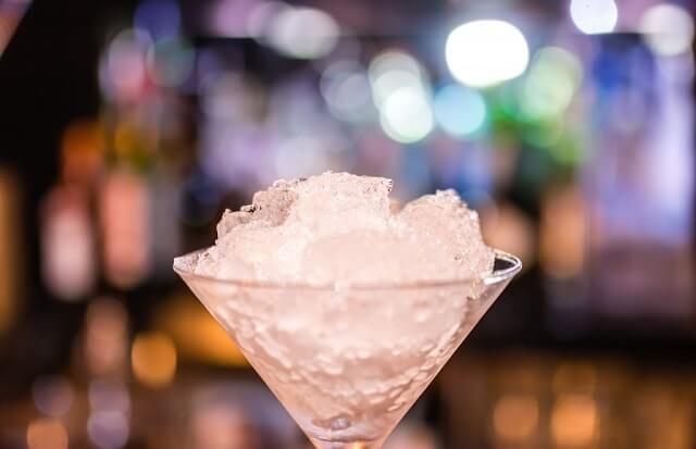 Kieliszek z drinkiem