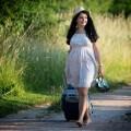 dziewczyna z walizką