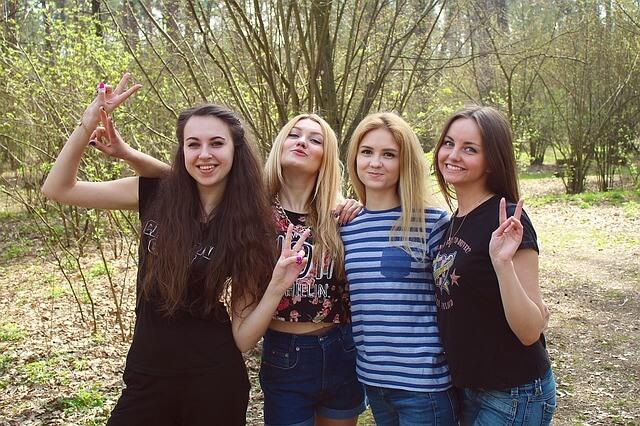 grupa przyjaciółek
