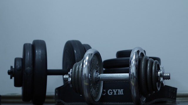 sprzęt na siłowni