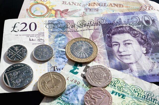 brytyjska waluta