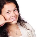 dziewczyna-telefon-gest-rozmowa