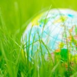 globus-w-trawie