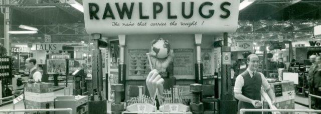 Dawne zdjęcie firmy Rawlplug