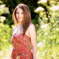 Sukienka na ramiaczkach na lato