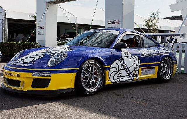 Auto sportowe Michelin