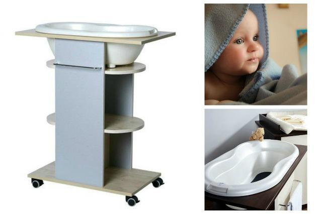 komoda-kąpielowa-kąpiel-niemowlę